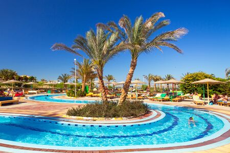 seaside resort: Three Corners Sunny Beach tropical resort in Hurghada