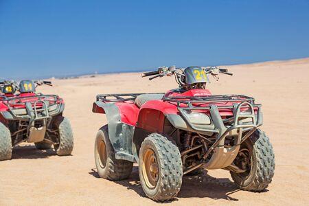 quad: Quad trip on the desert near Hurghada