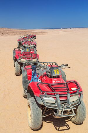 hurghada: Quad trip on the desert near Hurghada