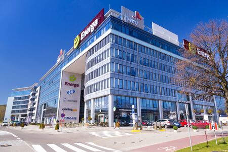 olivia: Modern buildings architecture of Olivia Business Centre in Gdansk