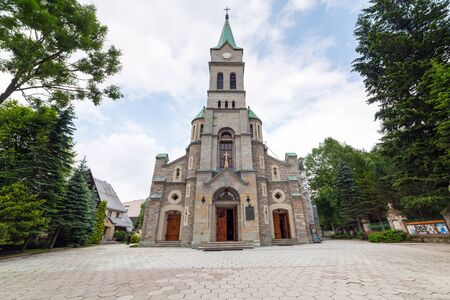 zakopane: Holy Family Church in Zakopane, Poland