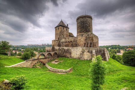 14th century: Medieval 14th century castle in Bedzin, Poland