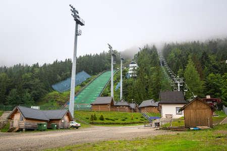 zakopane: Wielka Krokiew ski jumping arena in Zakopane