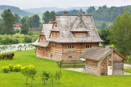 tatra: Traditional wooden village in Tatra mountains, Poland
