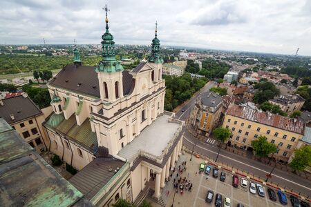 lublin: Architecture of old town in Lublin, Poland