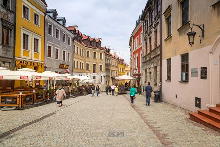 lublin: Old town in the city center of Lublin