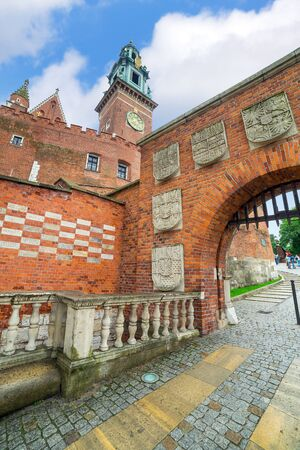 cracow: Royal Wawel Castle in Cracow, Poland
