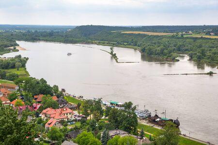 kazimierz dolny: Scenery of Kazimierz Dolny at Vistula river in Poland