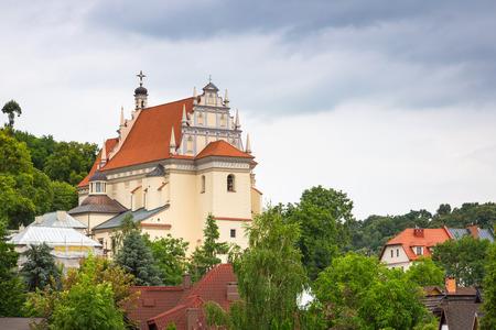 kazimierz dolny: Architecture of Kazimierz Dolny at Vistula river, Poland