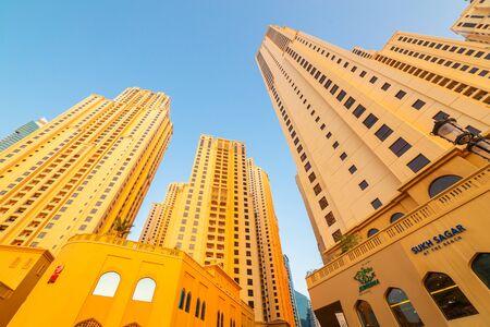 famous industries: Skyscrapers of Dubai Marina