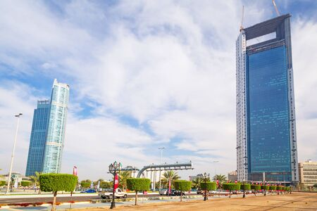 headquarters: Abu Dhabi National Oil Company headquarters in Abu Dhabi
