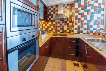 midwest: Kitchen of The Grand Midwest Tower Hotel in Dubai