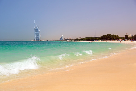 Jumeirah Beach in Dubai, UAE Archivio Fotografico