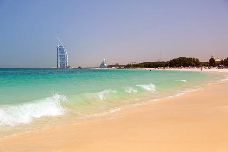 Jumeirah Beach in Dubai, UAE Standard-Bild
