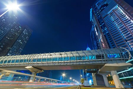 internet terminals: Tunnels of metro station in Dubai Internet City, UAE Editorial
