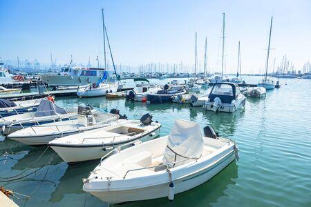 spezia: Boats and yachts in the marina of La Spezia, Italy