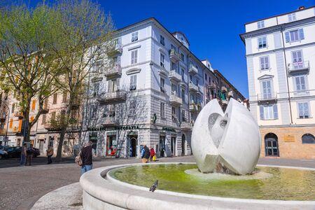 spezia: Italian architecture on the streets of La Spezia, Italy Editorial