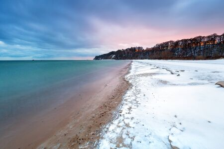 Babie: Winter at Baltic Sea in Babie Doly, Poland