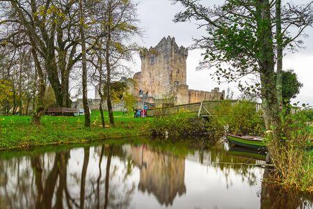 co  kerry: Ross Castle in Co. Kerry, Ireland