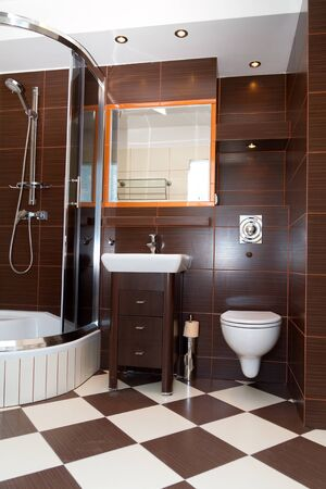 modern bathroom: Modern bathroom interior