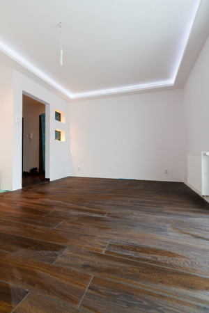 Modern apartment interior after renovation Stock Photo