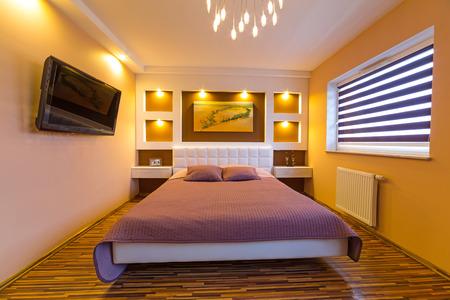pillow case: Modern master bedroom interior