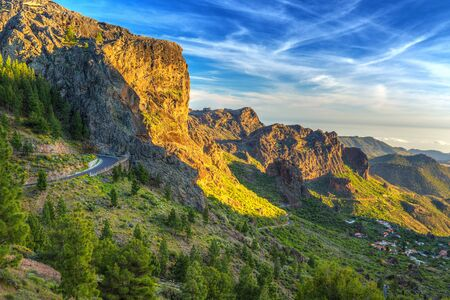 Mountains of Gran Canaria island, Spain
