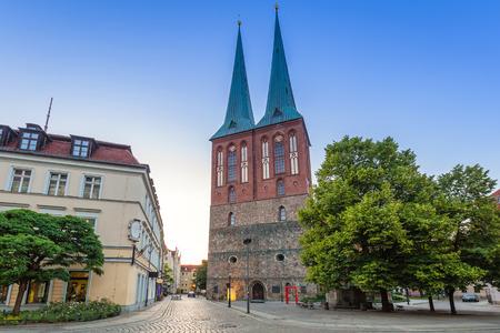 st german: St. Nicholas Church, the oldest church in Berlin, Germany