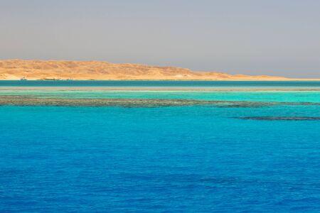 Beautiful lagoon of the Red Sea, Egypt Stock Photo
