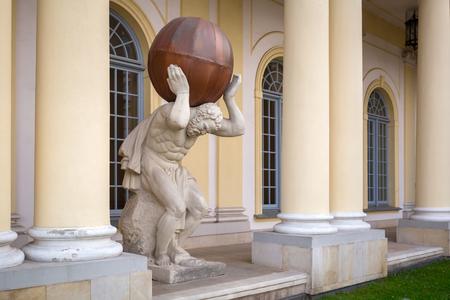 Beautiful architecture of the Branicki Palace in Bialystok, Poland Editoriali