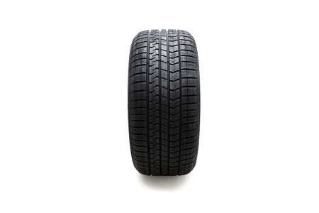 Car tire isolated on white background. Stock fotó