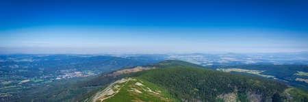 Beutiful landscape of the Karkonosze Mountains, Poland