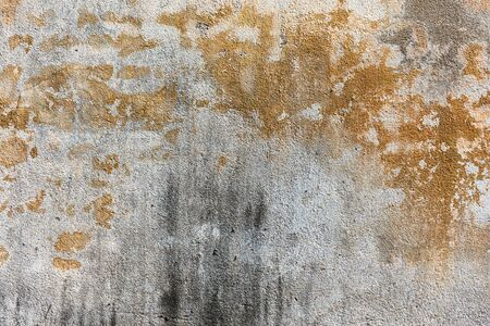 Cracked concrete vintage wall background. Closeup Texture abstract old wall background.