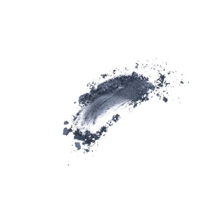 Eye shadow with neutral gray black colored isolated on white background. Stock fotó
