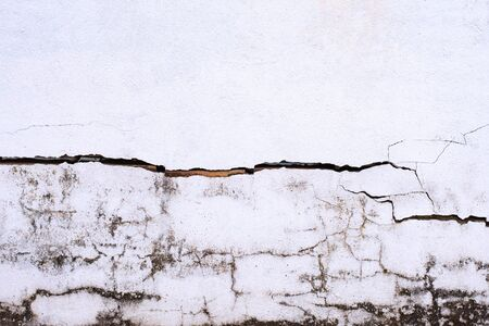 Old grunge white concrete texture background.
