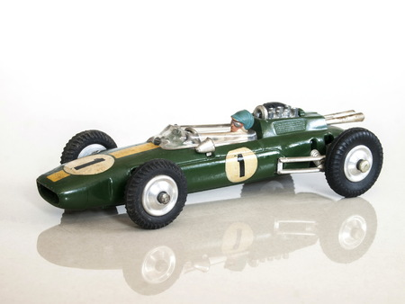 Vintage racing car toy  Lotus-Climax Formula1 toy model