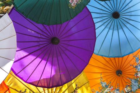 Umbrellas   paper umbrellas colorful : Colorful background