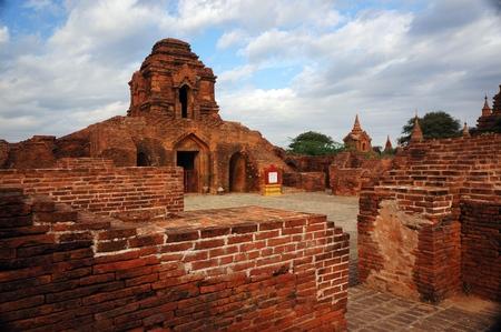 bagan: Old temple in Bagan Stock Photo