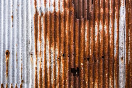 rust: Galvanized sheet with rust