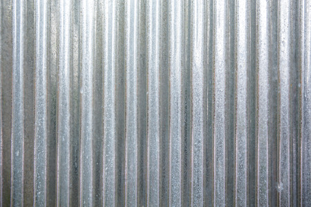 galvanized sheet Stockfoto
