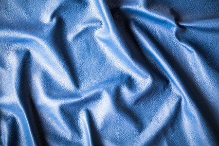 Abstract blue cow leather texture background photo
