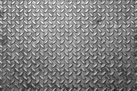 Patrón de la placa de acero de diamante Foto de archivo