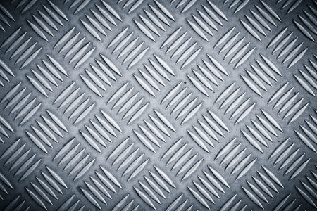 trample: Seamless metal texture, Table of steel sheet. Stock Photo