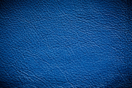 qualitative: Natural qualitative blue leather texture. Close up.