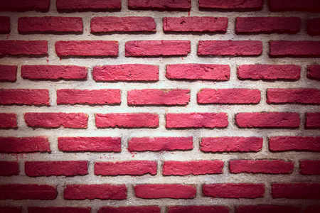 historica: red brick wall for texture or background Stock Photo