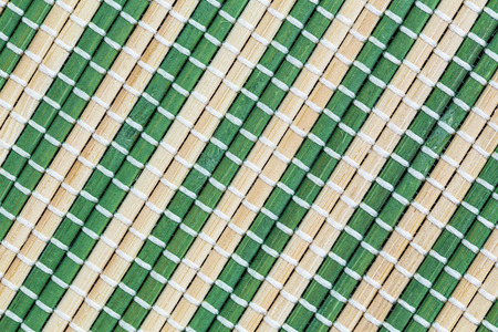 string together: Bamboo mat background. The asian mat from bamboo