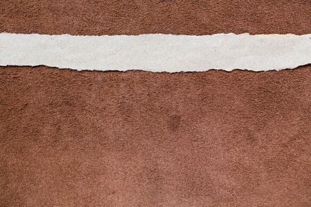 add text: Torn paper background empty for add text leather texture background