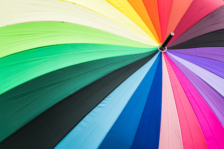 background from colourful umbrella Stock Photo