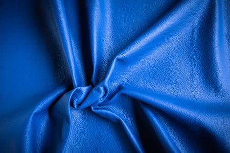 cuero vaca: Vaca azul textura de cuero Fondo abstracto