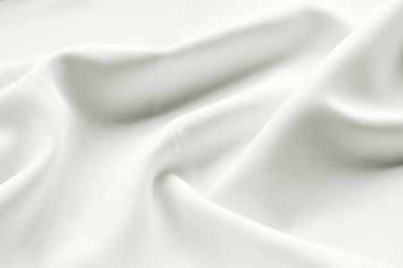 white satin: white satin fabric background